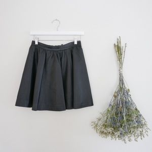 Dresses & Skirts - Faux Leather Mini Skirt